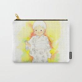kimono girl rainbow Carry-All Pouch