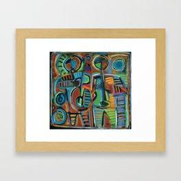 Jazzmen 2 Framed Art Print