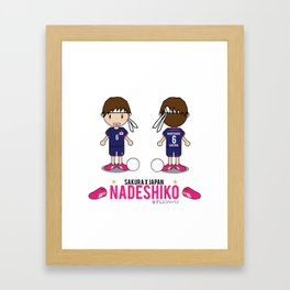 Nadeshiko X Sakura Framed Art Print