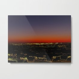 Lightscape One (Sunset) Metal Print