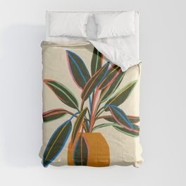 PLANT WITH COLOURFUL LEAVES  Comforters