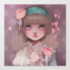 Le coeur en liesse... Canvas Print