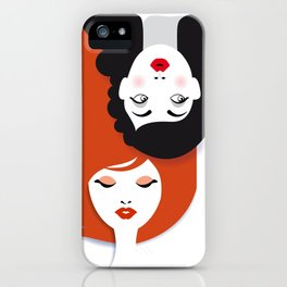 Beauty comes in all colors iPhone Case