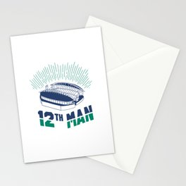 12th Man Stationery Cards