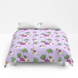 Guinea Pig and Radish Pattern Comforters