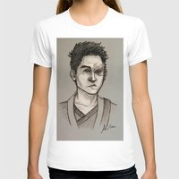 zuko T-shirts featuring the Fire Prince by Zalazny