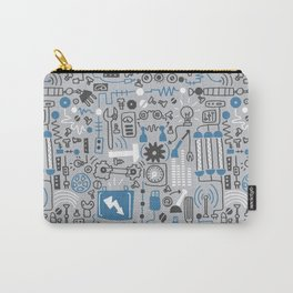 All my circuits in a pattern Carry-All Pouch