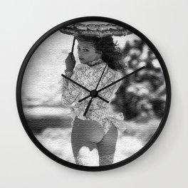 SUN UMBRELLA II Wall Clock
