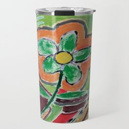 """ the flower "" Travel Mug"