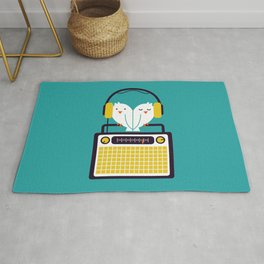 Radio Mode Love Rug