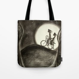 Heavy as moonlight  Tote Bag