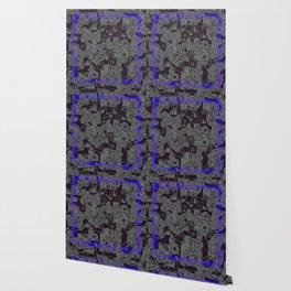 frame blue Wallpaper