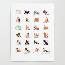 doggust collage Poster