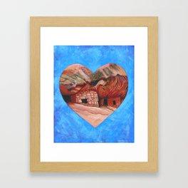 Cedar Mesa Ruin Framed Art Print