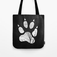 into the wild Tote Bags featuring Wild by Elisabeth Fredriksson