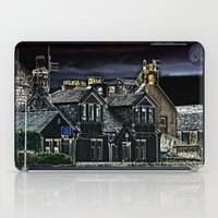 police iPad Cases featuring Police House by Valerie Paterson