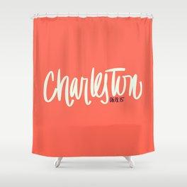 Charleston, SC Shower Curtain