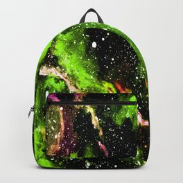 Galaxy (green) Backpack