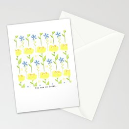 Summer Flowers 1 Stationery Cards