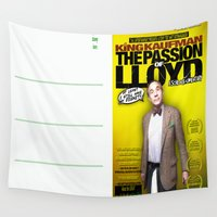 postcard Wall Tapestries featuring King Kaufman: The Passion of Lloyd (2008) - Movie Poster Postcard by Tex Watt