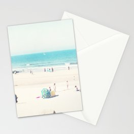 beach - happy life Stationery Cards