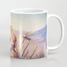 "Frederic Remington Western Art ""Apache Ambush"" Coffee Mug"