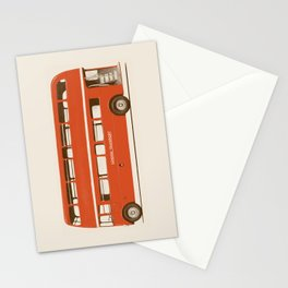 Double-Decker London Bus Stationery Cards