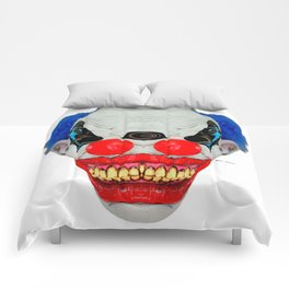 Creepy Clown Comforters