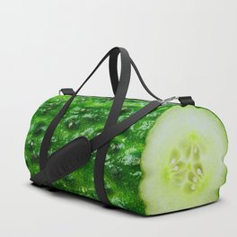 Fresh Cucumber Duffle Bag