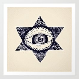 Starry Eyed by Tarachand Art Print