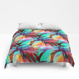 Floral Exotica 5 Comforters