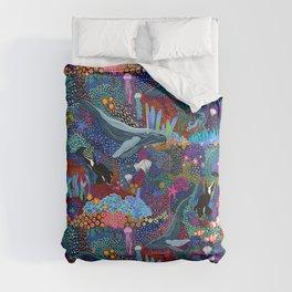 Whale Ocean Life Comforters