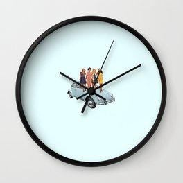 heels on wheels Wall Clock