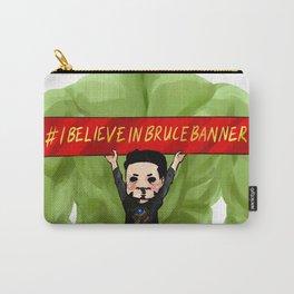 #IBelieveinBruceBanner Carry-All Pouch