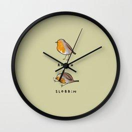 Robin Slobbin Wall Clock