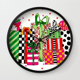 Presents! Wall Clock