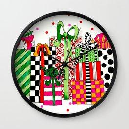 Presents! Wall Clock