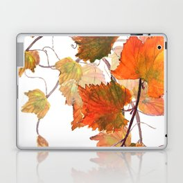 orange grapevine 2 Laptop & iPad Skin