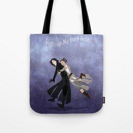 Light Up My Dark Side Tote Bag