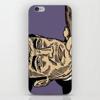 "popeye iPhone & iPod Skins featuring The French Connection: Jimmy ""Popeye"" Doyle by Mike Hague Prints"