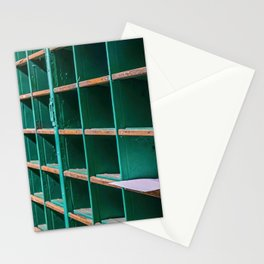 One Letter Left in Old Mail Rack Stationery Cards