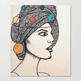 Miss Universe Canvas Print