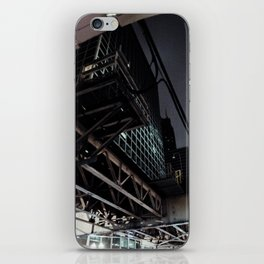 City VI - Urban City Metropolis Industrial Train Tracks  iPhone Skin