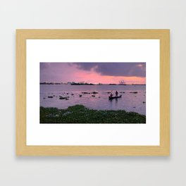 Waters of Kochi Part 2 Framed Art Print