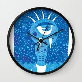Monster #7 Wall Clock