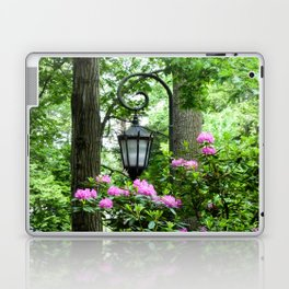 Lamppost Pink Laptop & iPad Skin