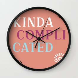 Kinda Complicated Wall Clock