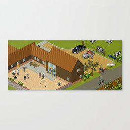 Headscape Barn Canvas Print