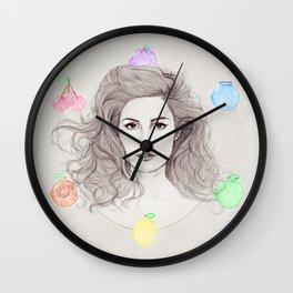 Fruit Machine Wall Clock