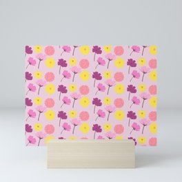 Pressed Flowers Mini Art Print